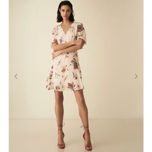 NWT Reiss ruby floral dress